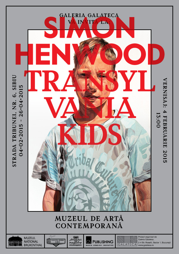Transylvania Kids - Simon Henwood - Invitatie